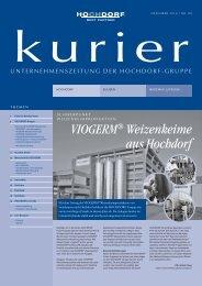VIOGERM® Weizenkeime aus Hochdorf - Hochdorf Nutritec AG