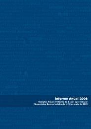 Informe Anual 2008 - Colonya, Caixa de Pollença