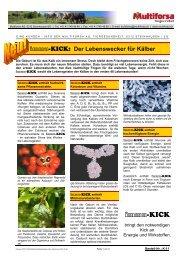 Bei Grippe- und Erkältungswetter - Hochdorf Nutritec AG
