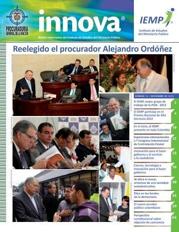 Reelegido el procurador Alejandro Ordóñez - Procuraduría General ...
