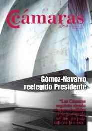 Gómez-Navarro reelegido Presidente - Cámaras