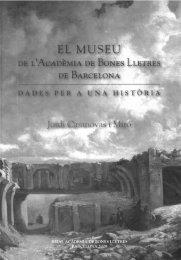 EL IVIUSEU - Reial Acadèmia de Bones Lletres