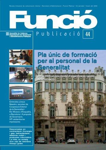 Publicació 44 - Generalitat de Catalunya