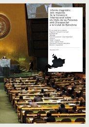 Informe diagnòstic dels impactes de la Convenció Internacional ...