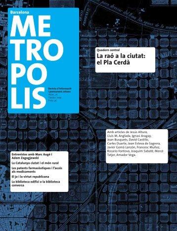 La raó a la ciutat: el Pla Cerdà - Ajuntament de Barcelona