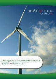 catálogo general de nuestros cursos - Ambientum