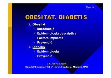 OBESITAT. DIABETIS - Hospital Vall d'Hebron