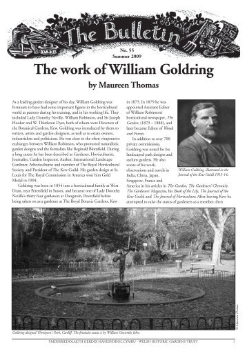 Bulletin 55 - the Welsh Historic Gardens Trust (WHGT)