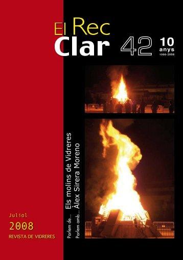 El Rec Clar 42 - Ajuntament de Vidreres