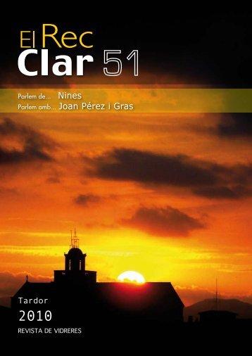 El Rec Clar 51 - Ajuntament de Vidreres