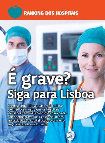 Ranking dos hospitais - Hospital de Santa Maria