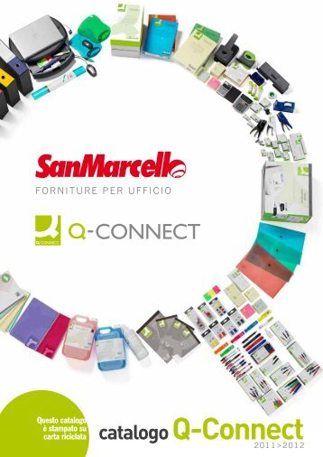 catalogo Q-Connect - Sanmarcello.it