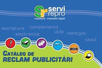RECLAM PUBLICITÀRI RECLAM PUBLICITÀRI - Servirepro