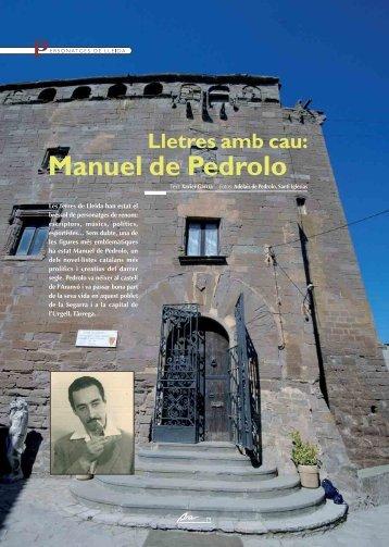 Manuel de Pedrolo - Ara Lleida