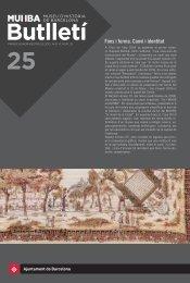 Butlletí MUHBA número 25 - Ajuntament de Barcelona