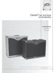 Classic® 50 212/410 - Peavey