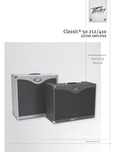 Classic® 50 212/410 - American Musical Supply