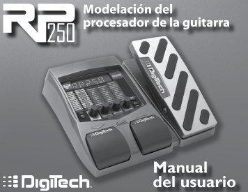 Manual del usuario - Digitech