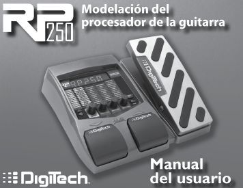 Manual del usuario - Digitech