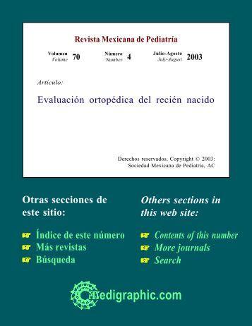 Evaluación ortopédica del recién nacido - edigraphic.com