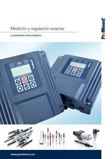 Folleto - Medición y regulación exactas - ProMinent
