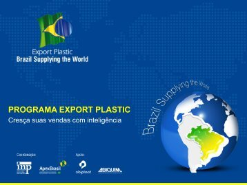 PROGRAMA EXPORT PLASTIC - Export Plastic Program