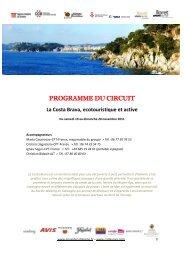 Programme-du-circuit-La-Costa-Brava-ecotourisme-et - Envie de ...