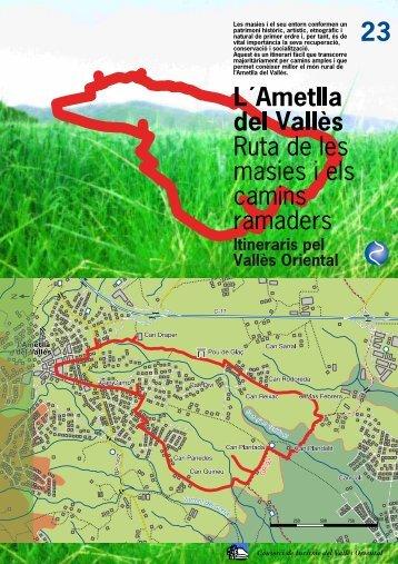 23. L'Ametlla del Vallès. Ruta per les masies i els camins ramaders.pdf