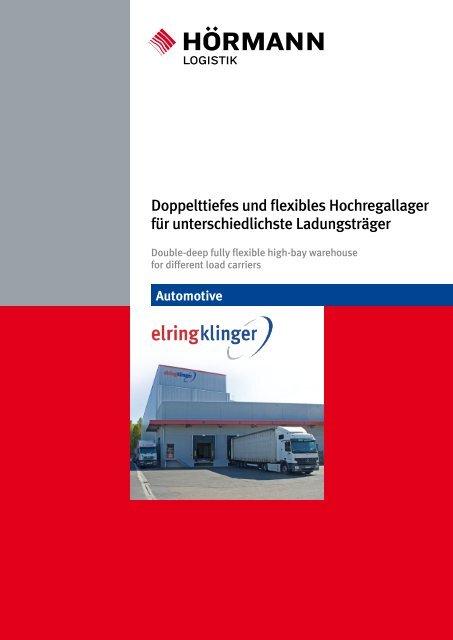 Referenzprojekt Elring Klinger - Hörmann Logistik GmbH