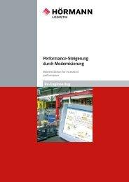 Performance-Steigerung durch Modernisierung - Hörmann Logistik ...