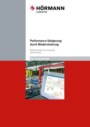 Performance-Steigerung durch Modernisierung - Hörmann Logistik ...