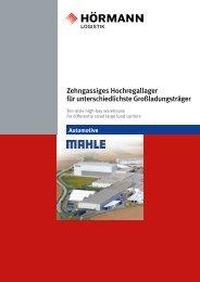 Referenzprojekt Mahle - Hörmann Logistik GmbH