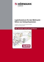 Referenzprojekt SATA - Hörmann Logistik GmbH