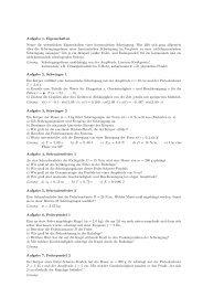 Aufgabe 1, Eigenschaften Nenne die wesentlichen Eigenschaften ...