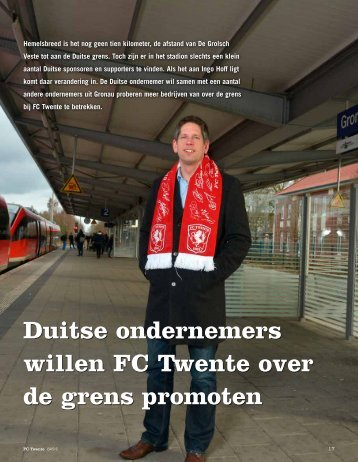 FC Twente BASIS02 - Business Magazine - Industriebau HOFF und ...