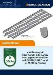 H&M Multiframe - Hofmeister & Meincke