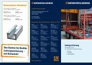 Das System für flexible Ladungssicherung - Hofmeister & Meincke