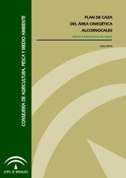 Anexo I: Inventario del medio - Junta de Andalucía