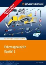 Fahrzeugbauteile Kapitel 1 - HOF-MEI-KO