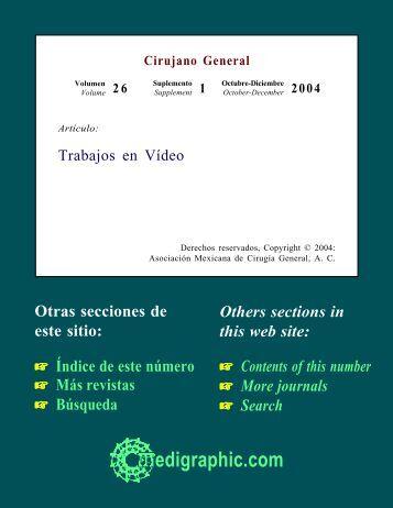 Trabajos en Vídeo - edigraphic.com