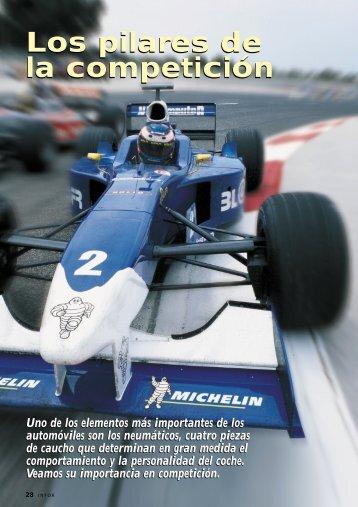 REPORTAJE: Los neumáticos, los pilares de la competición