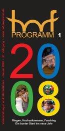 Januar - Hof Programm
