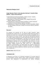 Melanoma Maligno Acral