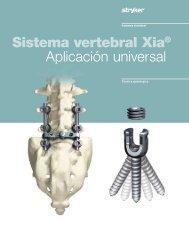 Sistema vertebral Xia® Aplicación universal - Isulmed