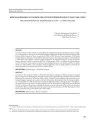 53 NEOPLASIAS BENIGNAS DA CAVIDADE ORAL: ESTUDO ...