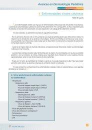 Avances en Dermatología Pediátrica Las - sepeap