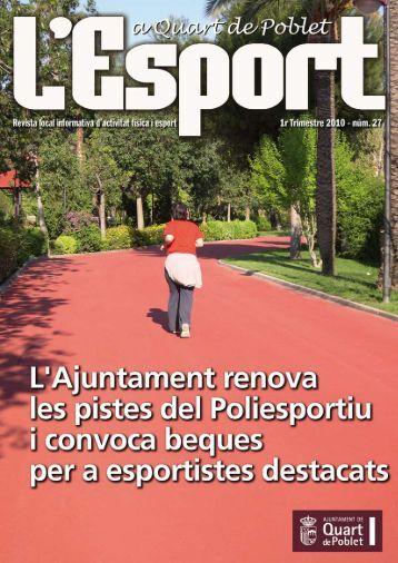 Quart magazines for Gimnasio quart de poblet