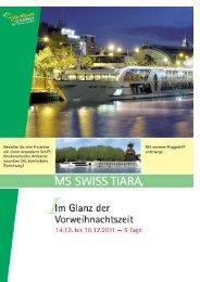 ms swiss tiara - Holdenried Reisen