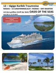 12 – tägige Karibik Traumreise - Holdenried Reisen