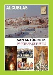 Calendario 2012 - Alcublas